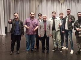 30 апреля, студенты Института искусств, посетили концерт заслуженного артиста России, лауреата международного конкурса им. Пуччини г. Милан Али Ташло.