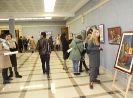 Выставка-конкурс молодых художников