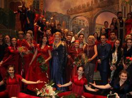 Международный конкурс театральных коллективов «Планета талантов» в Париже