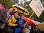 2010-10-14  70 лет АГУ. торжественное шествие по ул.Краснооктябрьской
